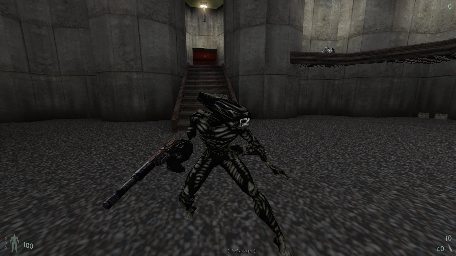 Alien Player Model screenshot
