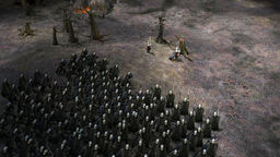 The Lord Of The Rings - The Battle For Middle Earth 2 - Rise Of The Witch King The Rise of the Iron Crown v.1.5 beta mod screenshot
