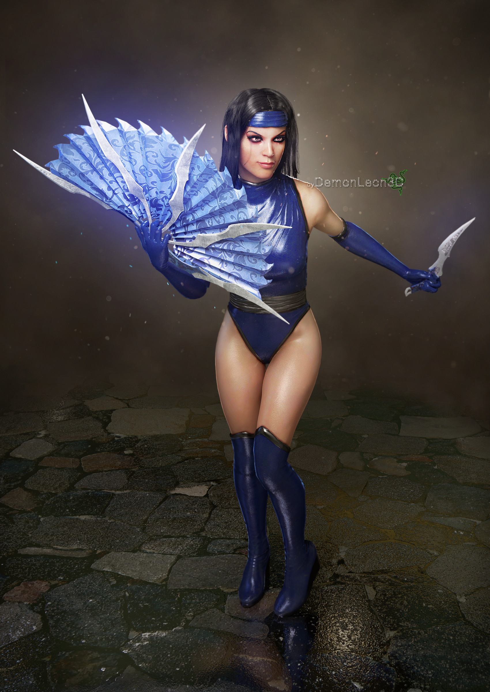 Kitana Jade And Mileena screenshot